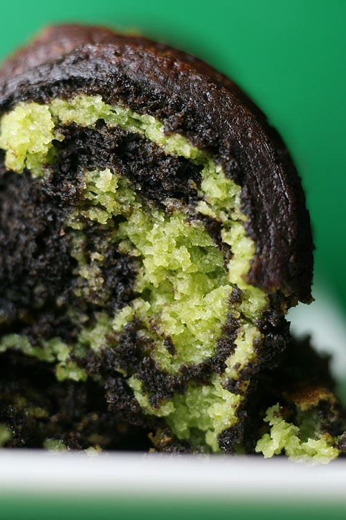 RECIPE: Chocolate Matcha Tea Bundt Cake