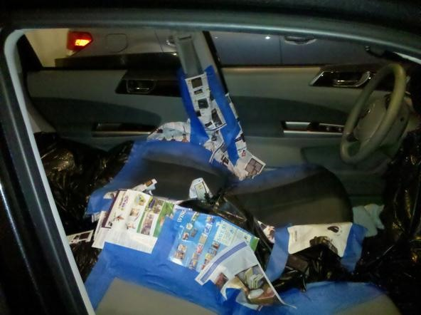 How To Paint Your Car 39 S Interior For A Two Tone Look Car Mods