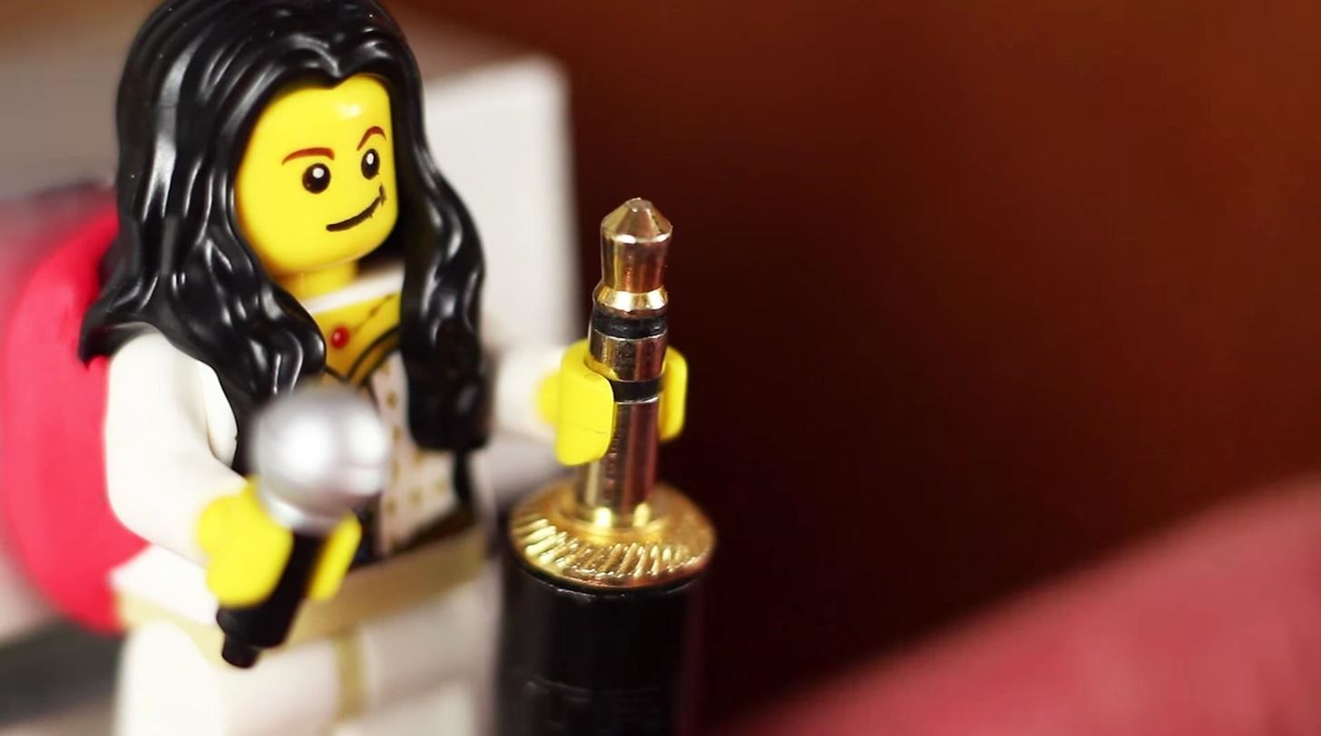 Organize Your Cable Clutter with Sugru & Mini LEGO People