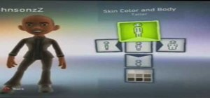 Customize an XBox 360 Avatar that looks like President Barack Obama