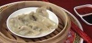 Make dumpling dim sum
