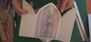 Make a church door card