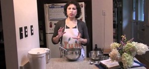 Make your own pancake batter from scratch