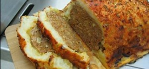 Make meatloaf with a parmesan potato crust