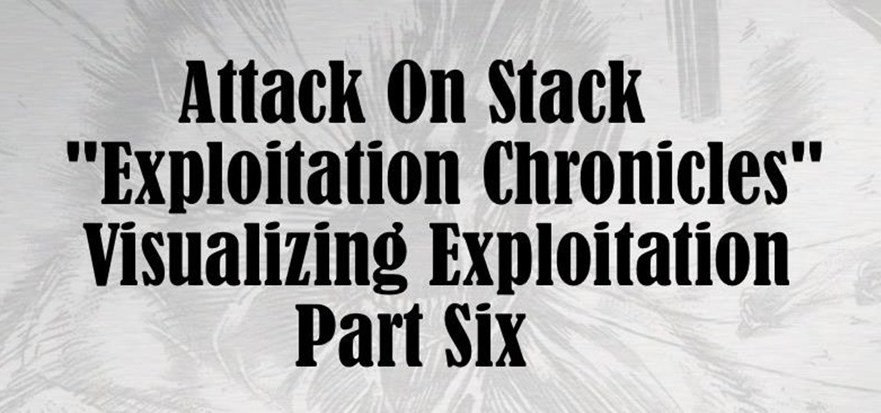 Attack on Stack [Part 6]; Smash the Stack Visualization: NOP Sled Technique, the End of a Trilogy.