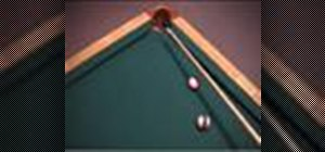 Avoid the near rail on a corner pocket pool shot
