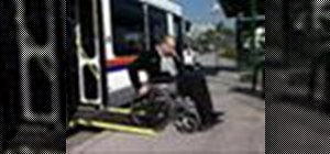 Board an Orange County Transit Authority (OCTA) bus in a wheelchair