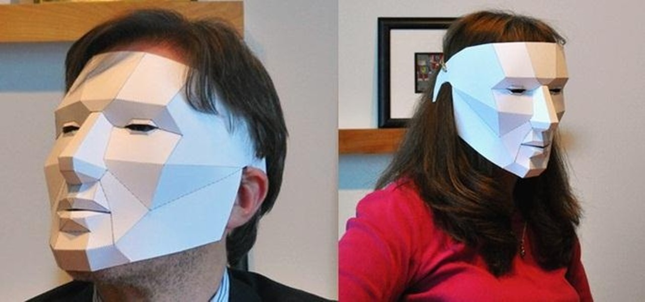 Make an Easy, Last-Minute Polygon Mask for Halloween