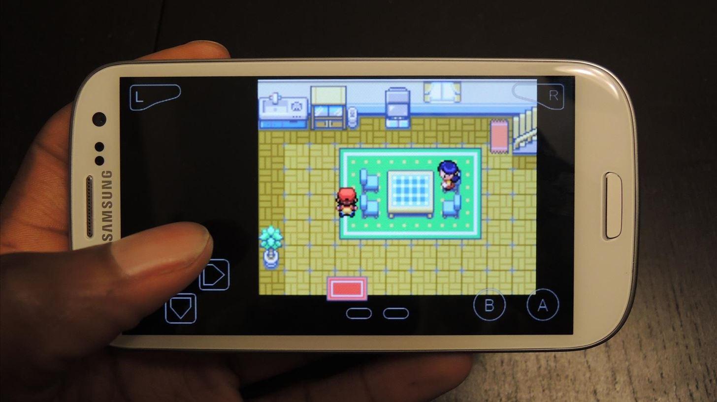 Virtual gameboy pokemon game