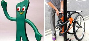 Thieves No More! If Gumby Were a Bicycle...
