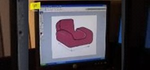 Design a chair using Photoshop