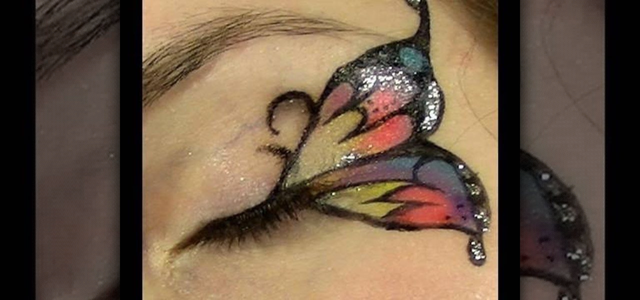 How to Apply butterfly makeup eyes Â« Makeup :: WonderHowTo