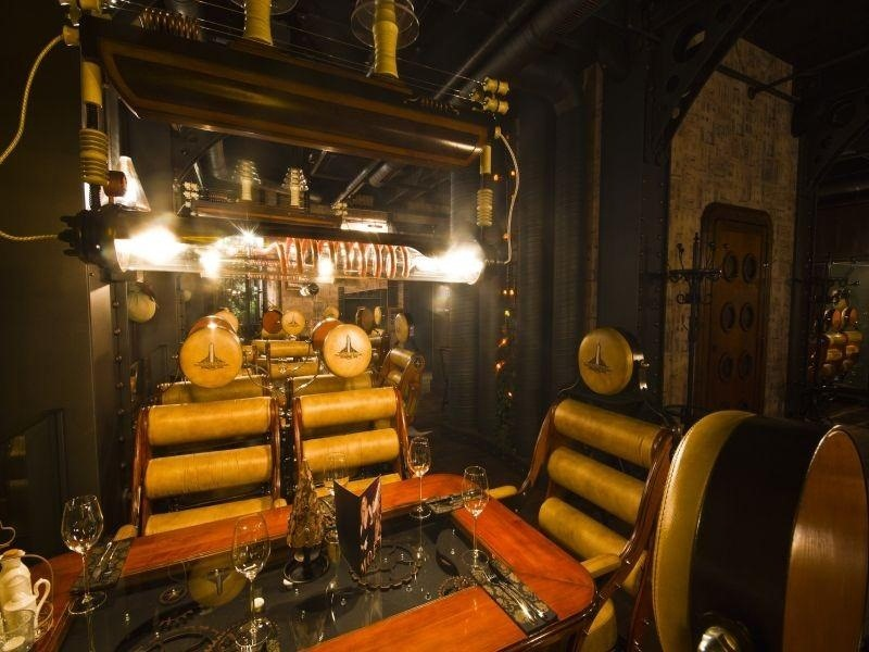 Amazing Steampunk Restaurant in Poland