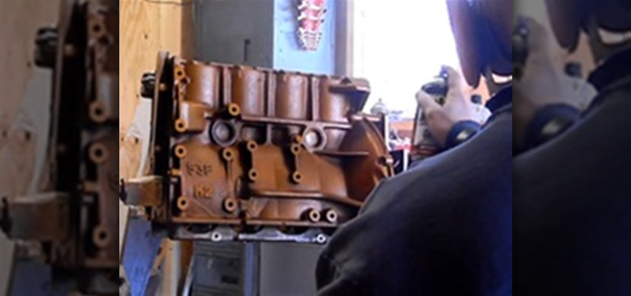 How To: Paint an Engine Block