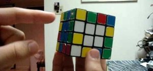 Solve a 4x4 Rubik's Cube by advanced edge pairing