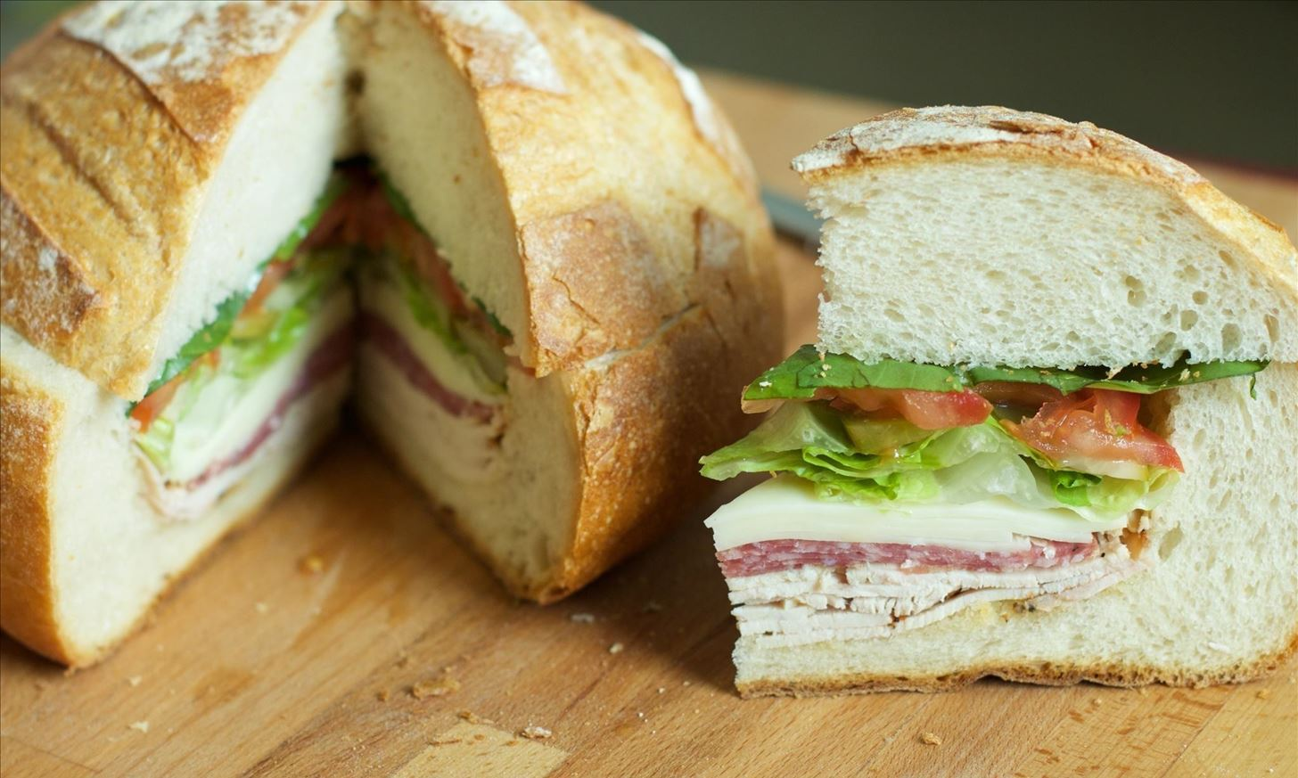 Transform a Loaf of Bread into a Stuffed Sandwich Fit for a Picnic