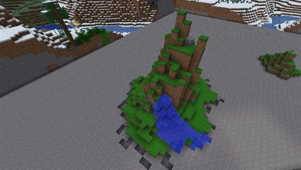 How to Terraform Your Minecraft World with Natural-Looking Mountains