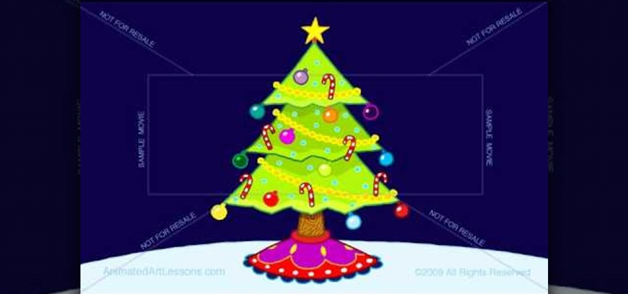 How to Draw and color a beautiful Christmas tree « Christmas Ideas ...