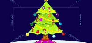 Draw a fun Christmas tree