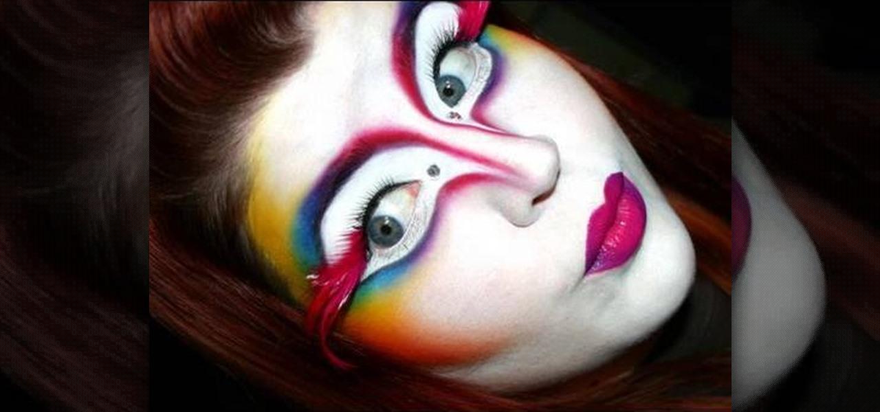 How to Create a shocking Cirque Du Soleil makeup look « Makeup ...