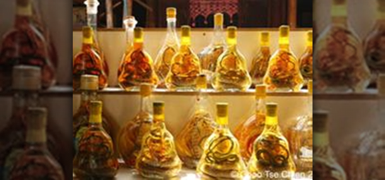 Make the Medicinal Aphrodisiac Snake Wine