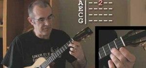 Read ukulele tabs