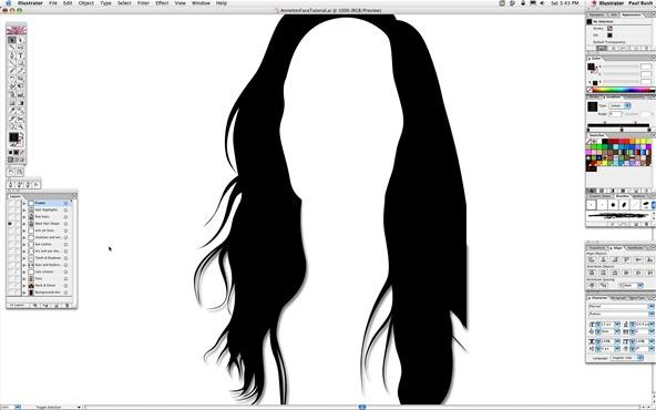 How to Use the Gradient Mesh Tool in Adobe Illustrator for Vector Portraits