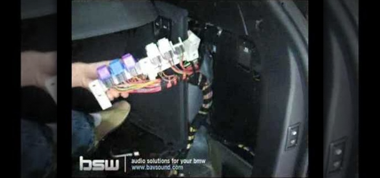 fuse box for car amp how to install a subwoofer system x108 into a bmw x5