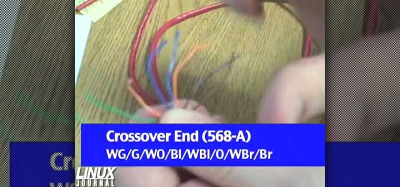 How to Make a crossover cable from scratch for your computer ...