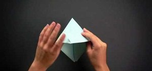 Fold an easy and quick origami boat