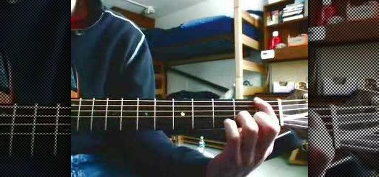 How To Play The Song The General By Dispatch Acoustic Guitar