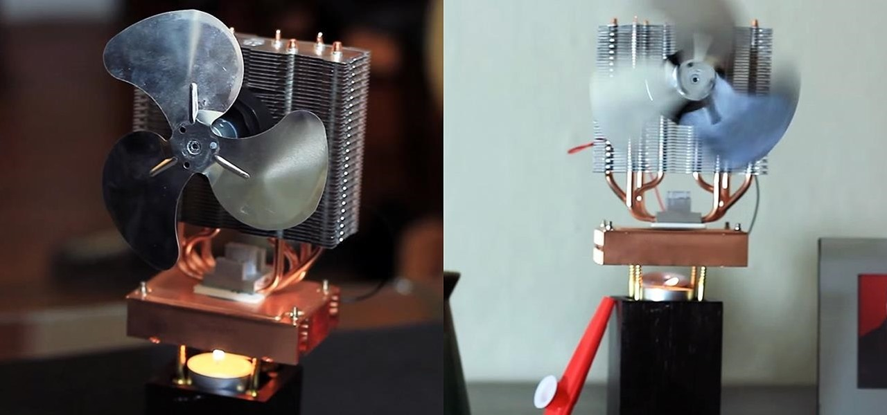 DIY Candle-Powered Fan Keeps You Cool at Home Using Fire