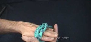 Tie a Turk's Head knot - on a cylinder and spherical