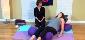 Do a goddess-pose breathing exercise
