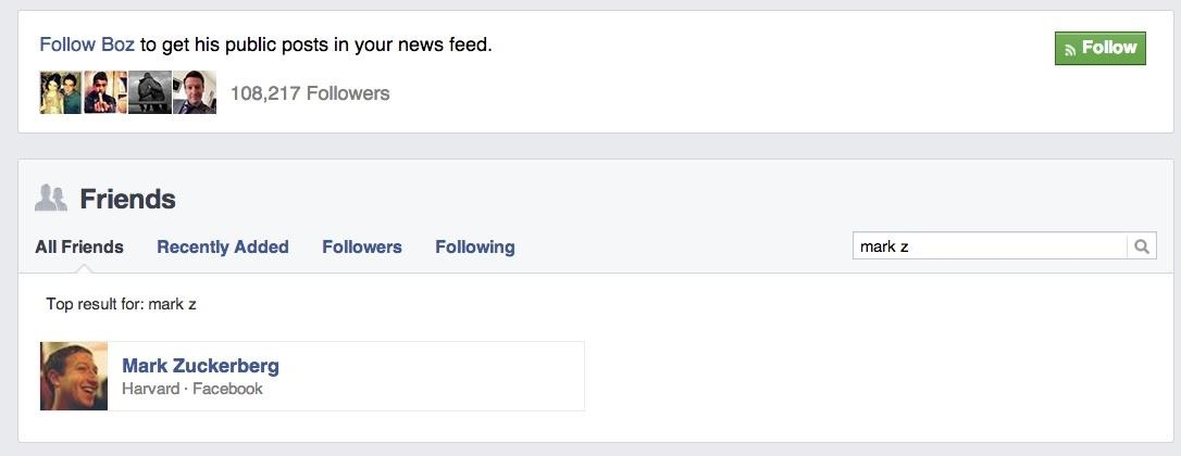 how to stop following someone on facebook